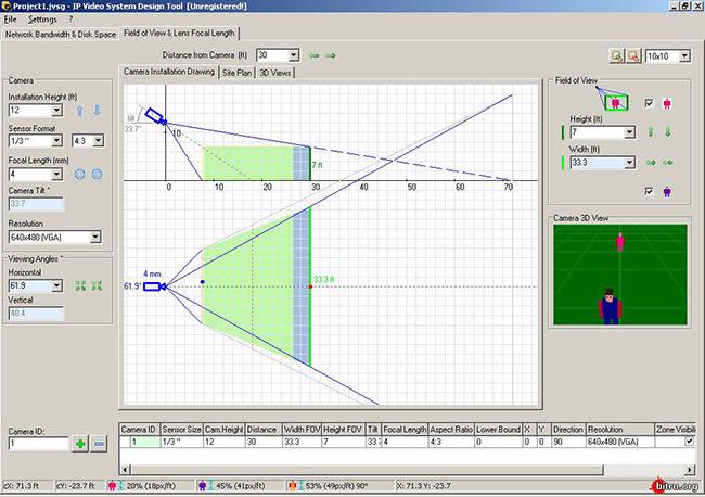 Использование программы Video System Design Tool